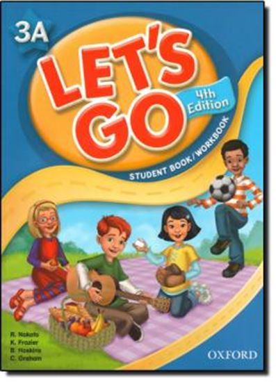 Picture of LETS GO 3A STUDENT BOOK/WORKBOOK WITH MULTI-ROM PACK - FOURTH EDITION