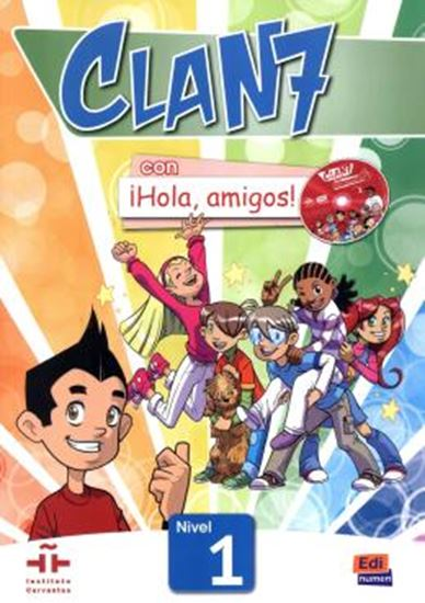 Picture of CLAN 7 CON HOLA, AMIGOS! 1 LIBRO DEL ALUMNO + CD-ROM