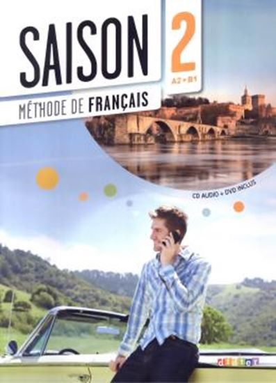 Picture of SAISON 2 - LIVRE ELEVE + CD AUDIO + DVD (A2+)