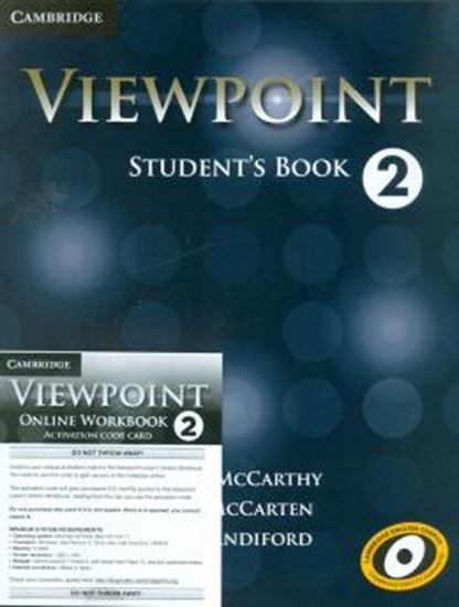 Picture of VIEWPOINT 2 BLENDED ONLINE PACK (STUDENTS BOOK AND ONLINE WORKBOOK ACTIVATION CODE CARD)