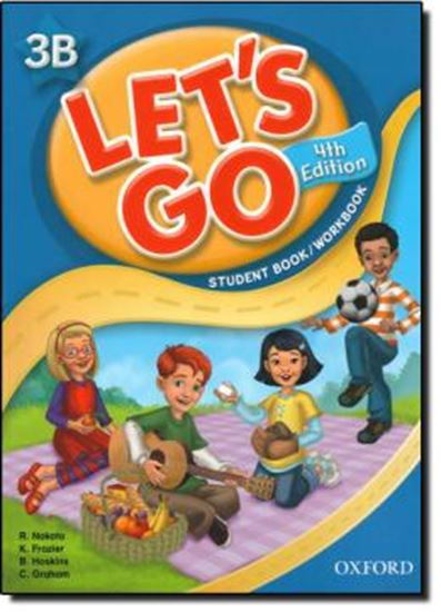 Picture of LETS GO 3B STUDENTS BOOK/WORKBOOK WITH MULTIROM PACK - 4TH ED
