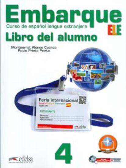 Picture of EMBARQUE 4 - LIBRO DEL ALUMNO INCLUYE CD AUDIO