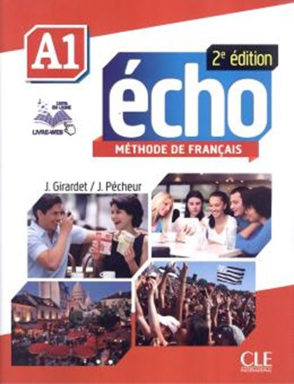 Picture of ECHO A1 - LIVRE D´ELEVE + DVD-ROM - 2E EDITION