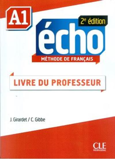 Picture of ECHO A1 - GUIDE PEDAGOGIQUE - 2E EDITION