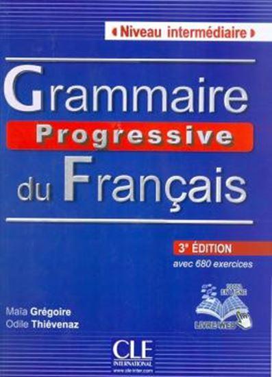 Picture of GRAMMAIRE PROGRESSIVE DU FR. INTER. - LIVRE + CD AUDIO - 3E EDITION