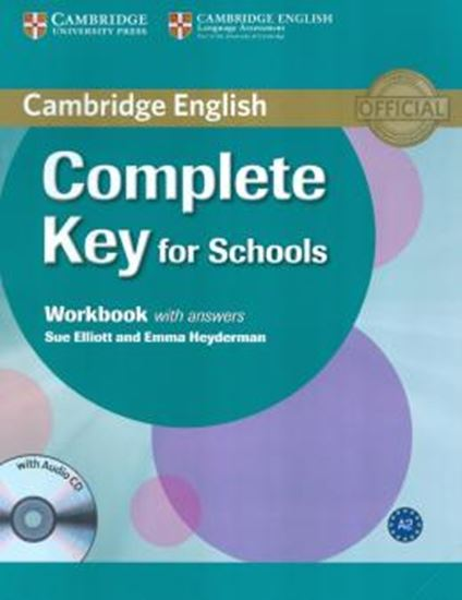 Picture of COMPLETE KEY FOR SCHOOLS WORKBOOK WITH ANSWERS WITH AUDIO CD