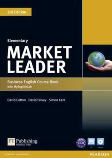 Picture of MARKET LEADER ELEMENTARY COURSEBOOK (WITH DVD-ROM INCL. CLASS AUDIO) & MYLAB - 3RD ED