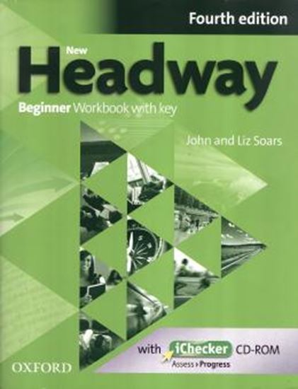 Picture of NEW HEADWAY BEGINNER WB - WITH KEY & ICHECKER - 4TH ED
