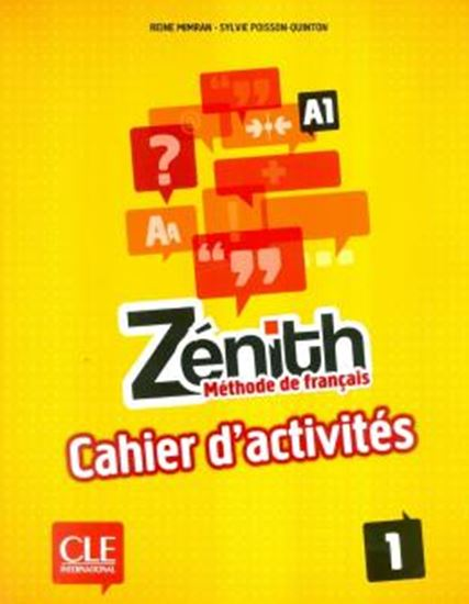 Picture of ZENITH 1 - CAHIER D´EXERCICES (A1)