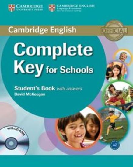 Picture of COMPLETE KEY FOR SCHOOLS SB WITH ANSWERS WITH CD-ROM