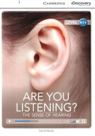 Picture of ARE YOU LISTENING? THE SENSE OF HEARING - BOOK WITH ONLINE ACCESS  - LEVEL A1+