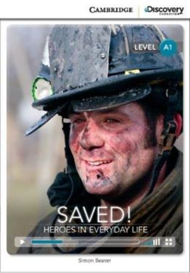 Picture of SAVED! HEROES IN EVERYDAY LIFE BOOK WITH ONLINE ACCESS