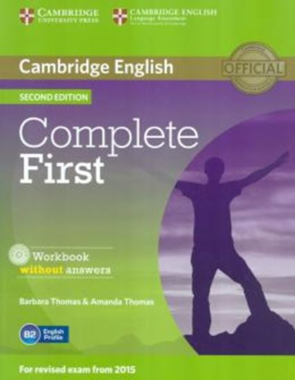 Picture of COMPLETE FIRST - WB WITHOUT ANSWERS WITH AUDIO CD - 2ND ED
