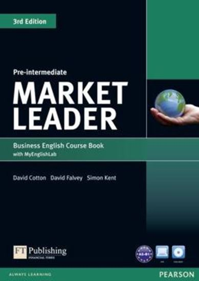 Picture of MARKET LEADER PRE-INTERMEDIATE COURSEBOOK (WITH DVD-ROM INCL. CLASS AUDIO) & MYLAB - 3RD ED
