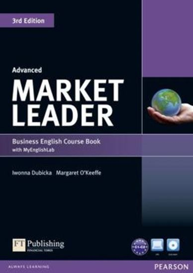 Picture of MARKET LEADER ADVANCED COURSEBOOK (WITH DVD-ROM INC. CLASS AUDIO) &MYLAB - 3RD ED