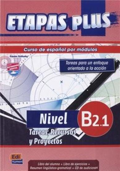 Picture of ETAPAS PLUS B2.1  LIBRO DEL ALUMNO + CD