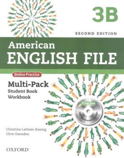 Picture of AMERICAN ENGLISH FILE 3B MULTIPACK - 2ND ED