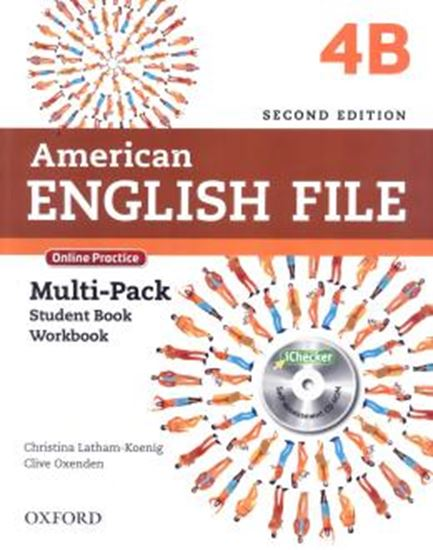 Picture of AMERICAN ENGLISH FILE 4B MULTIPACK - 2ND ED