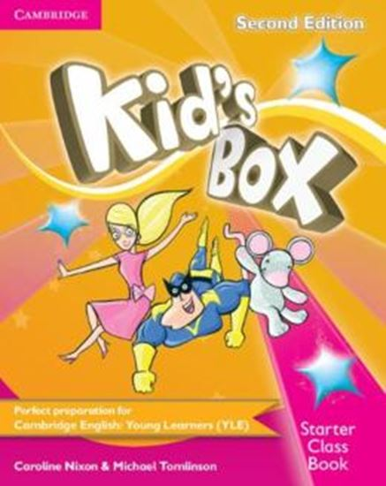 Picture of KIDS BOX STARTER CLASS BOOK WITH CD-ROM -  2ND ED - BRITISH