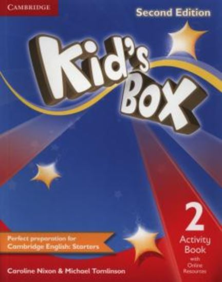 Picture of KIDS BOX 2 ACTIVITY BOOK WITH ONLINE RESOURCES - 2ND ED