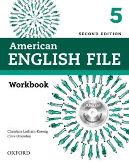 Picture of AMERICAN ENGLISH FILE 5 WORKBOOK WITHOUT KEY PACK - 2ND ED
