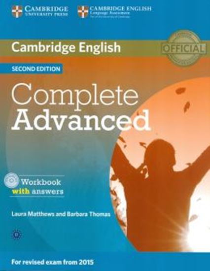Picture of COMPLETE ADVANCED WORKBOOK WITH ANSWERS WITH AUDIO CD