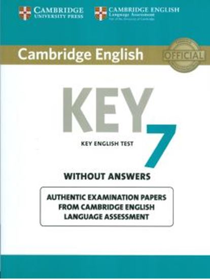 Picture of CAMBRIDGE ENGLISH KEY 7 - STUDENTS BOOK WITHOUT ANSWERS