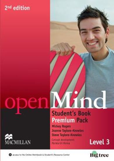 Picture of OPEN MIND 3 STUDENTS BOOK PREMIUM PACK - 2ND ED