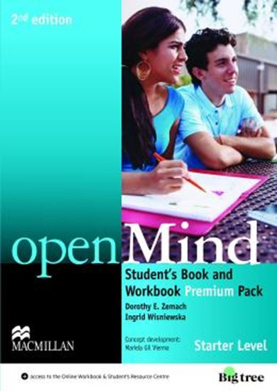 Picture of OPEN MIND STARTER STUDENTS BOOK PREMIUM PACK - 2ND ED