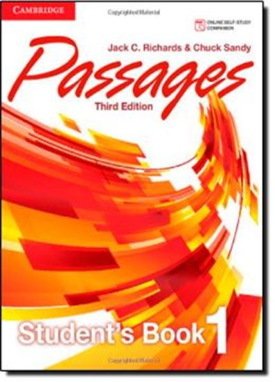 Picture of PASSAGES LEVEL 1 - STUDENTS BOOK - 3RD ED