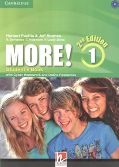 Picture of MORE! LEVEL 1 - STUDENTS BOOK WITH CYBER HOMEWORK AND ONLINE RESOURCES - 2ND ED