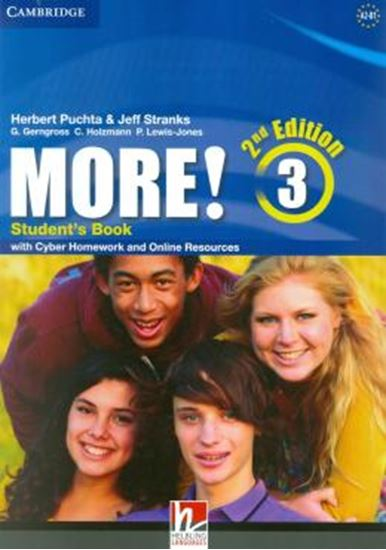 Picture of MORE! LEVEL 3 -  STUDENTS BOOK WITH CYBER HOMEWORK AND ONLINE RESOURCES - 2ND ED