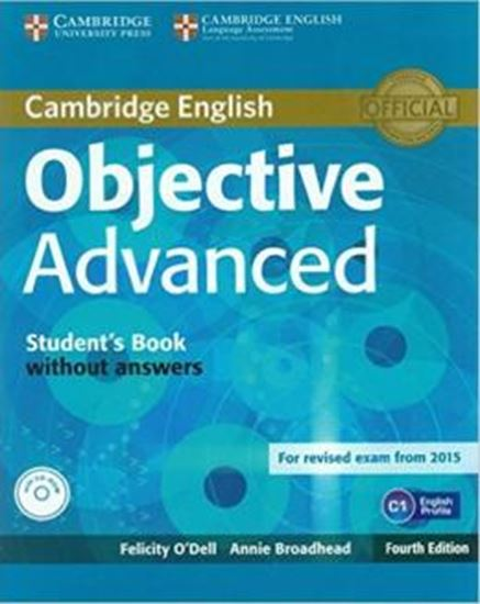 Picture of OBJECTIVE ADVANCED STUDENTS BOOK WITHOUT ANSWERS WITH CD-ROM - 4TH ED