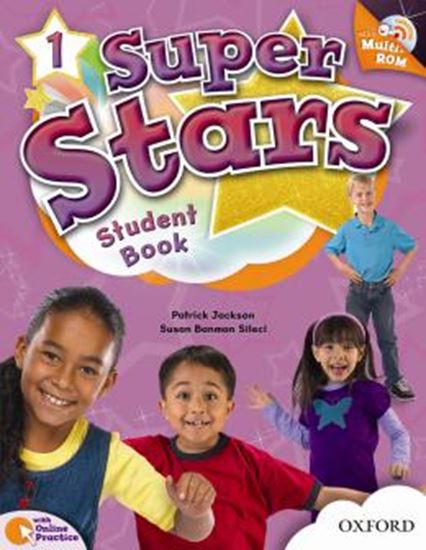 Picture of SUPER STARS 1 STUDENTS BOOK WITH MULTIROM PACK