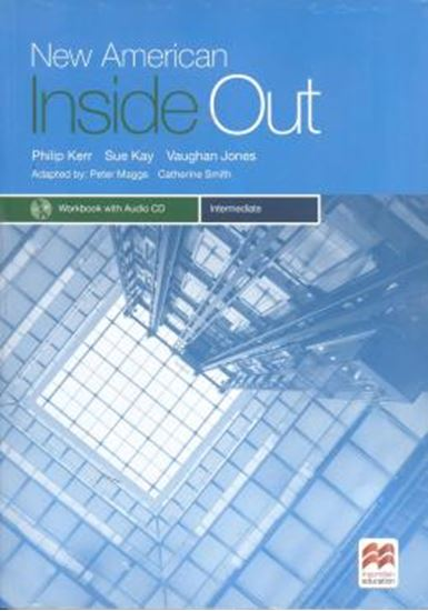 Picture of NEW AMERICAN INSIDE OUT INTERMEDIATE WORKBOOK WITH AUDIO CD