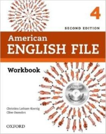 Picture of AMERICAN ENGLISH FILE 4 WORKBOOK WITH ICHECKER - 2ND ED