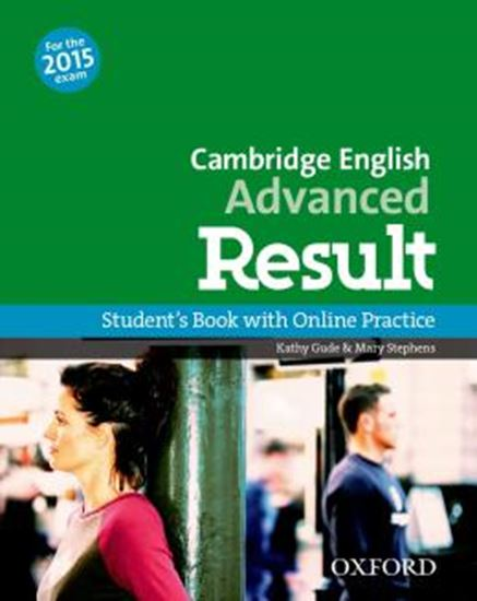 Picture of CAMBRIDGE ENGLISH ADVANCED RESULT SB AND ONLINE PRACTICE PACK