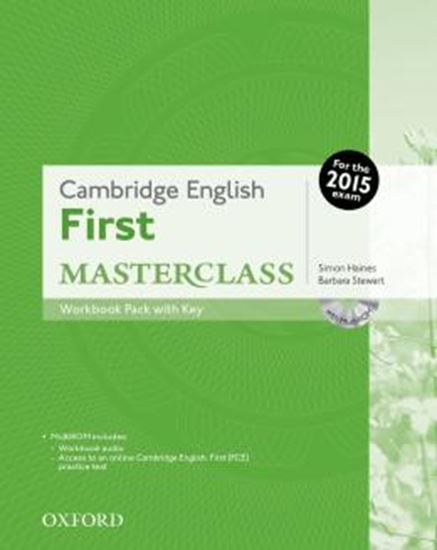 Picture of CAMBRIDGE ENGLISH FIRST MASTERCLASS WORKBOOK PACK WITH KEY