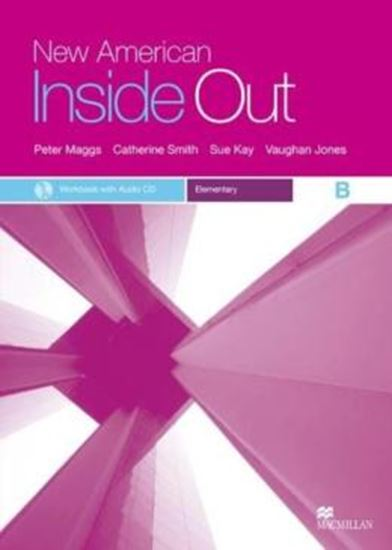 Picture of NEW AMERICAN INSIDE OUT ELEMENTARY WORKBOOK B WITH AUDIO CD(W/KEY)