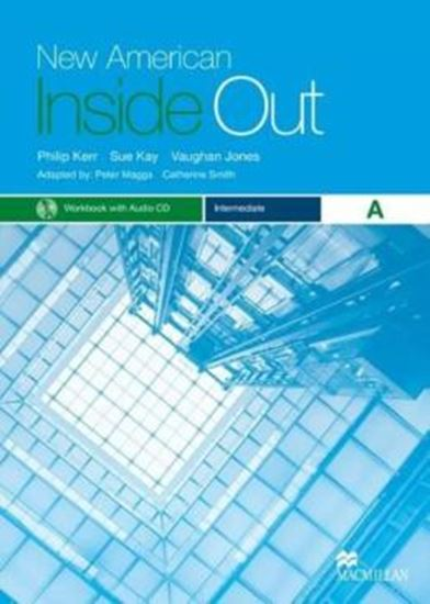 Picture of NEW AMERICAN INSIDE OUT INTERMEDIATE WORKBOOK A WITH AUDIO CD(WKEY)