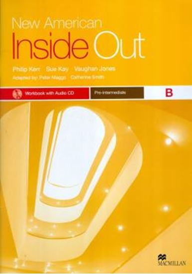 Picture of NEW AMERICAN INSIDE OUT PRE-INTERMEDIATE WORKBOOK B WITH AUDIO CD(W/KEY)