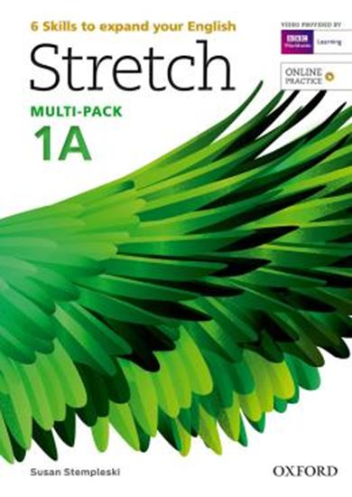 Picture of STRETCH 1 STUDENTS BOOK & WORKBOOK A MULTI-PACK WITH ONLINE PRACTICE
