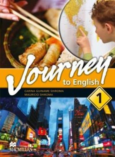 Picture of JOURNEY TO ENGLISH 1 SB/WB WITH AUDIO CD/CD-ROM