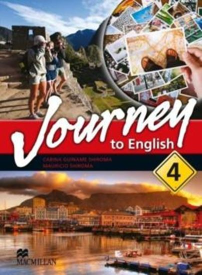 Picture of JOURNEY TO ENGLISH 4 SB/WB WITH AUDIO CD/CD-ROM