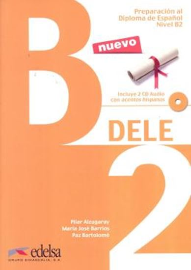 Picture of PREPARACION AL DIPLOMA - DELE B2 INTERMEDIO LIBRO + CD - N/E