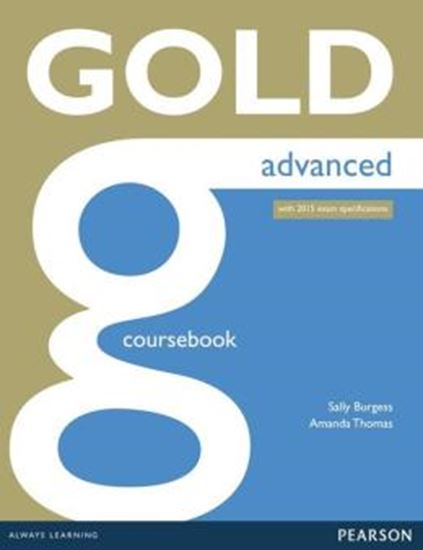 Picture of GOLD ADVANCED COURSEBOOK WITH ONLINE AUDIO