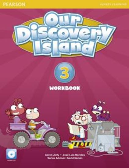 Picture of OUR DISCOVERY ISLAND 3 AMERICAN EDITION WORKBOOK WITH AUDIO CD