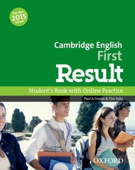 Picture of CAMBRIDGE ENGLISH FIRST RESULT SB AND ONLINE PRACTICE PACK
