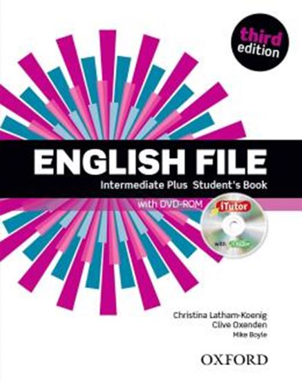 Picture of ENGLISH FILE INTERMEDIATE PLUS SB WITH  ITUTOR - 3RD ED