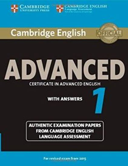 Picture of CAMBRIDGE ENGLISH ADVANCED 1 SB WITH ANSWERS